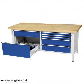ANKE Werkbank 237 VX mit breiten Schubladen - ZaragoShop.de